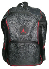 Nike Air Jordan Jumpman Backpack 9A1223-391 Laptop Bag Black Graphit Elephant