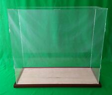 "22""x15""x16"" Table Top Display Case Box for Doll Houses Doll and Bears Dollhouses"