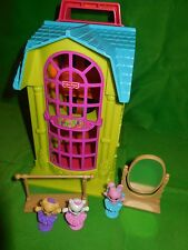 FISHER PRICE SWEET STREETS DANCE STUDIO BALLERINA BUILDING LOT