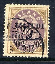 ICELAND 1902 100a. overprinted I GILDI, used