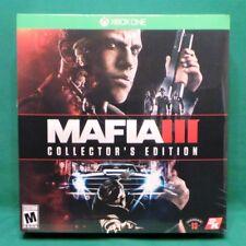Mafia III: Collector's Edition (Microsoft Xbox One, 2016) Factory Sealed NTSC US