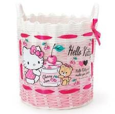 Cute Hello Kitty Desk Storage Box Receiving Basket For Underwear Snacks Debris