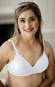 ABC Petite T-Shirt Non Underwired Mastectomy Bra White 105