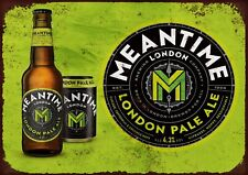 Meantime London pale ale metal wall sign