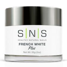 Sns Nail Dipping Powder No Primer,No Liquid,No Uv Light - French White 2oz/56g