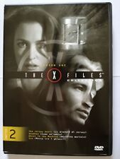 The X-Files collection season one volume 2 (serie TV) DVD 4 episodi