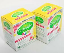 2x50= 100 Packs Culturelle Daily Probiotics For Kids Digestive & Immune Support