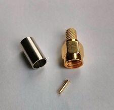 RP-SMA connettore a crimpare (f).RG58 Wlan HF Cavo 5mm