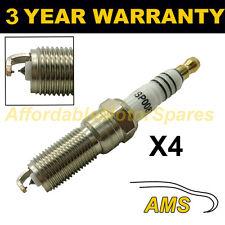 4X doppio Iridium Spark Plugs per FORD FIESTA VI 1.25 2008 in poi