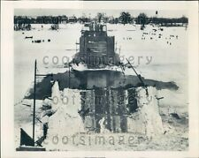 1951 Duplessis Bridge Collapse Three Rivers Quebec Canada Press Photo