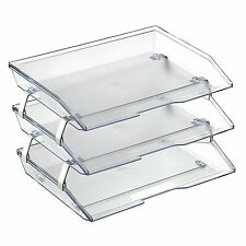 Acrimet Facility Triple Letter Tray (Crystal Color)