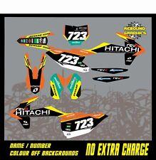 KTM SX 50 65 Motocross Gráficos Kit Kit de Pegatinas Calcomanías Gráficos KTM SX 50 SX 65