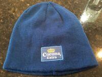 Corona Extra Lager beer branded Beanie Hat + Corona Lanyard Brand New