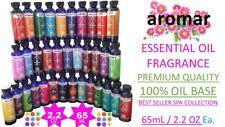 Aromar Essential Oils 65 ml/ 2.2 Oz Premium Spa Aromatherapy 70+ Best Fragrances