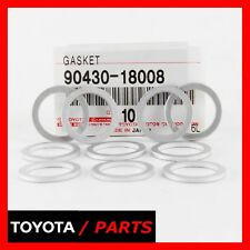 FACTORY LEXUS TOYOTA SCION SET OF 10 DRAIN PLUG GASKET WASHER 9043018008 OEM