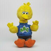 ~ Vintage ~ Sesame Street ~ Talking Alphabet ABC ~ Big Bird ~ Soft Toy Hasbro ~