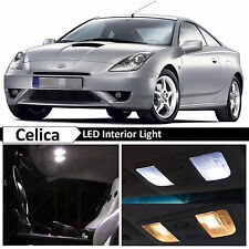 2000-2005 Toyota Celica White Interior + License Plate LED Lights Package