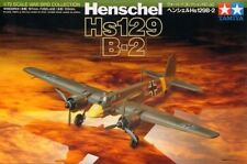 Tamiya 60730 1/72 Aircraft Model Kit WWII German Luftwaffe Henschel Hs-129 B-2
