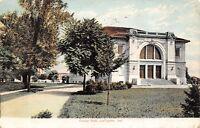 Lafayette Indiana~Purdue University~Eliza Fowler Hall~1910 Postcard
