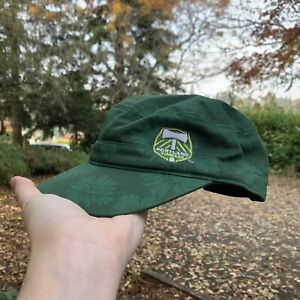 ADIDAS Portland Timbers MLS Embroidered Logo Hat Strapback Cap Green