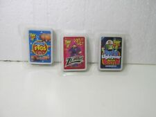 General Mills Set Of 3 Toy Story Card Games Cereal toy t5362