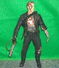 """Neca Terminator batalla final T800 de T2 juicio día 7"""" Figura De Acción-Usado"""