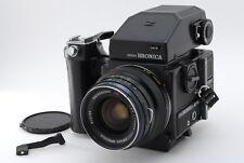 [Exc+++++] Zenza Bronica ETR Si w/ MC 50mm f2.8, AEII finder, 120 back  #685