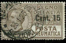 Italy Scott #D9 Used Pneumatic Stamp