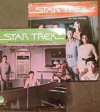 STAR TREK lot of 2 records 45 w/pic sleeves SEALED~Time Stealer, In Vino Veritas