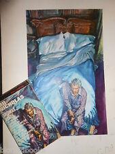 ROGER HALL? Original Cover Artwork for Mr Nicholas by Thomas Hinde (1962) + Book