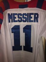 New York Rangers Mark Messier XL All star Jersey Size Fitted 52 NHL 1992 Replica