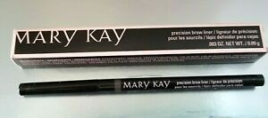 Mary Kay Authentic Precision Brow Liner - Black/Brown Full Size