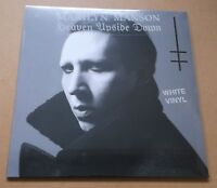 MARILYN MANSON Heaven Upside Down European limited white vinyl LP + MP3 SEALED