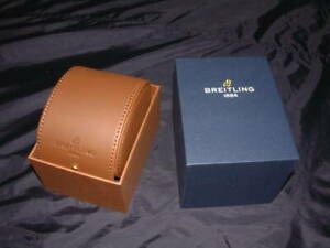 Genuine Breitling Double Watch Box Set