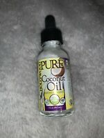 Hollywood Beauty Pure Organic Coconut Oil, 1 oz Dropper