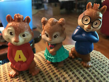 McDonald's Alvin And The Chipmunks Set Of 3