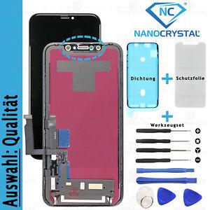 iPhone XR Display RETINA Glas 3D LCD Touch Screen Ekran VORMONTIERT *AUSWAHL*