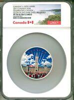 2017 Canada S$30 Celebrating Canada 150th Ann. Glow In The Dark ER NGC PF70 UC