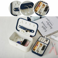 Jewelry Container Organizer Makeup Case Exquisite Packaging Double Layer Casket