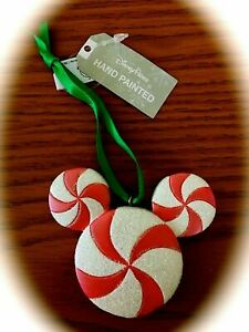 Disney Store Mickey Mouse Christmas Gingerbread Man Key Ornament IN HAND