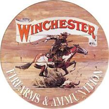Winchester Express Round Tin Sign 0975