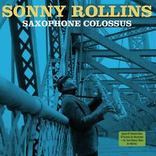 Sonny Rollins SAXOPHONE COLOSSUS + Tenor Madness 180g GATEFOLD New Vinyl 2 LP