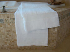 2New Premium Bath Sheets 30X60 WMonogram UChoose Elegant Wedding Angel Seashells