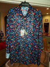 Robert Graham SIBLEY Classic Fit $278 2XL Multi  NWT Holiday  Shirt..AUCTION