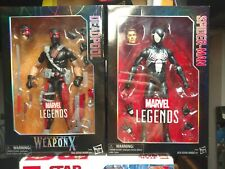 Marvel Legends Series 12in Agent Of Weapon X Deadpool Spider-Man Symbiote Black