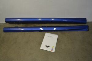 MK6 VW Golf R Side Skirts Rocker Panels Sideskirts Blue Genuine Oem 2012-2013