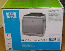 BRAND NEW HP LASERJET 1600 COLOR LASER PRINTER GENUINE SEALED