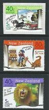 NEW ZEALAND 1999 HEALTH CHILDREN'S BOOKS SET OF 3 UNMOUNTED MINT, MNH