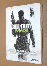 Call of Duty MODERN WARFARE 3 promo T-Shirt Size L Xbox 360 One PS3 Wii DS