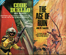 Mack Reynolds/John Faucette-Ace H-Series Double-1968-Code Duello/Age of Ruin
